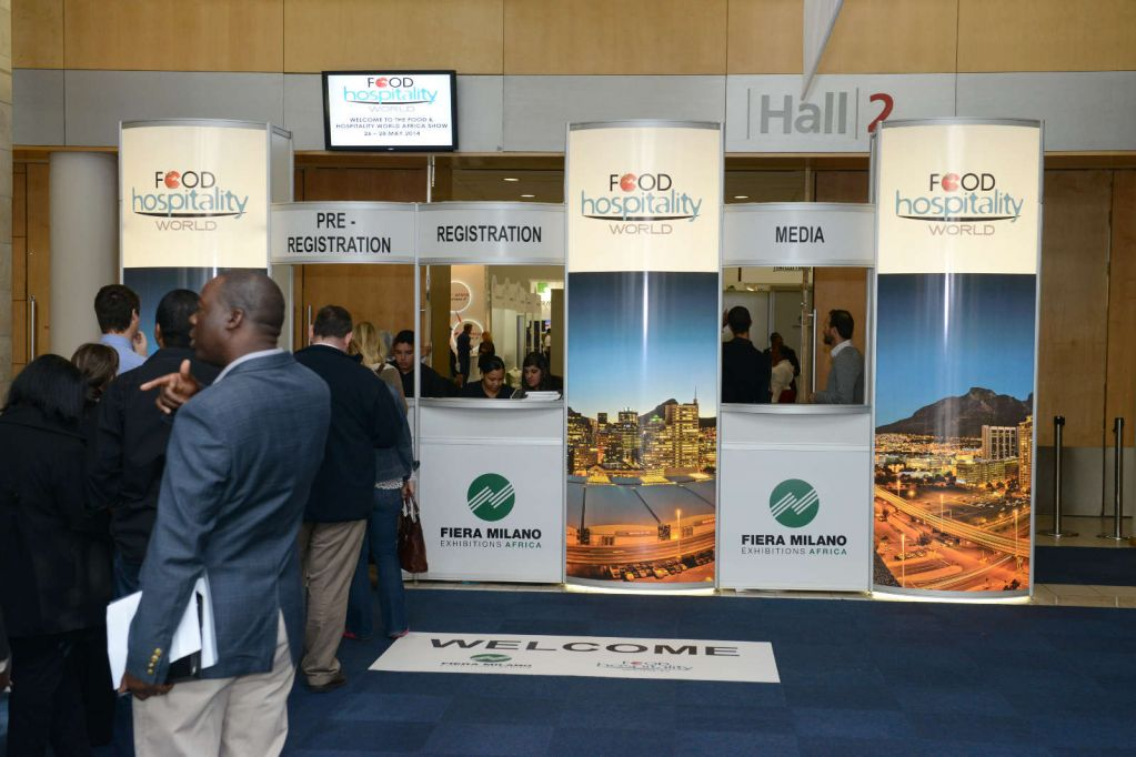 Exhibition Stand Builders Cape Town : Food hospitality africa
