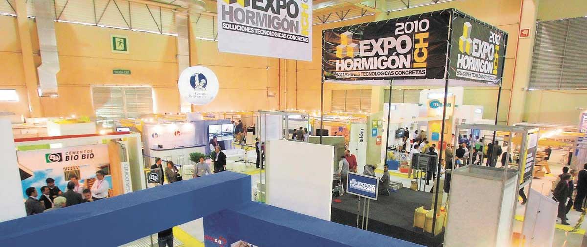 Expohormigon Exhibition Area