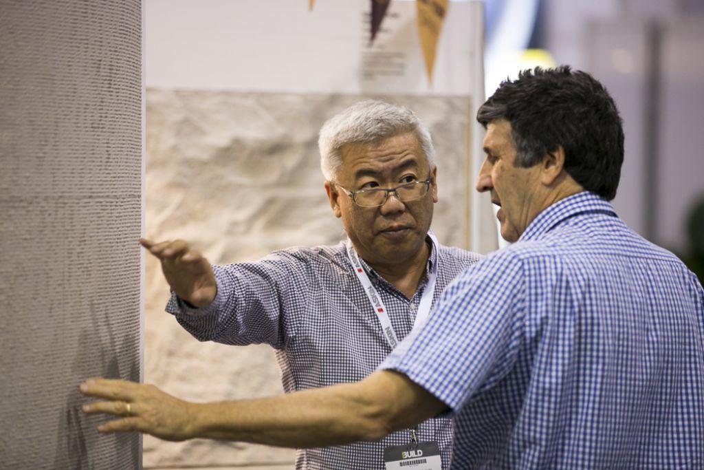 Exhibit At Design Build Held In Sydney