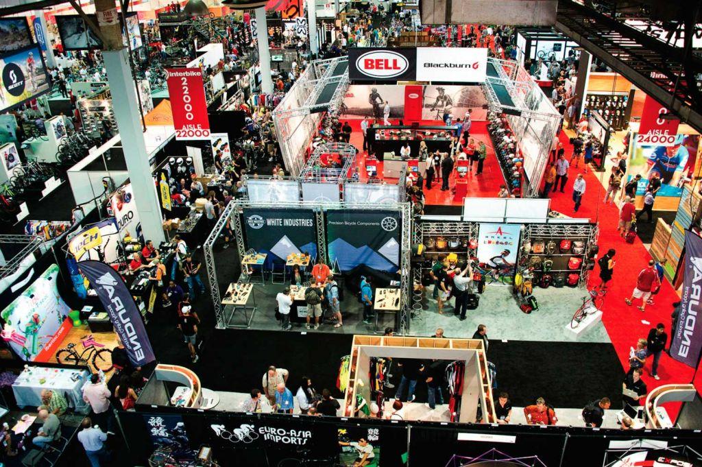 Exhibition Stands Las Vegas Aerial