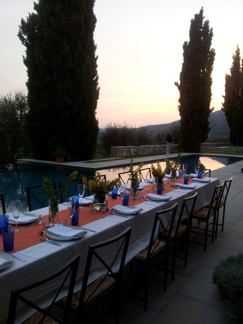 Beautiful Scenery Catering With La Serviette Blanch