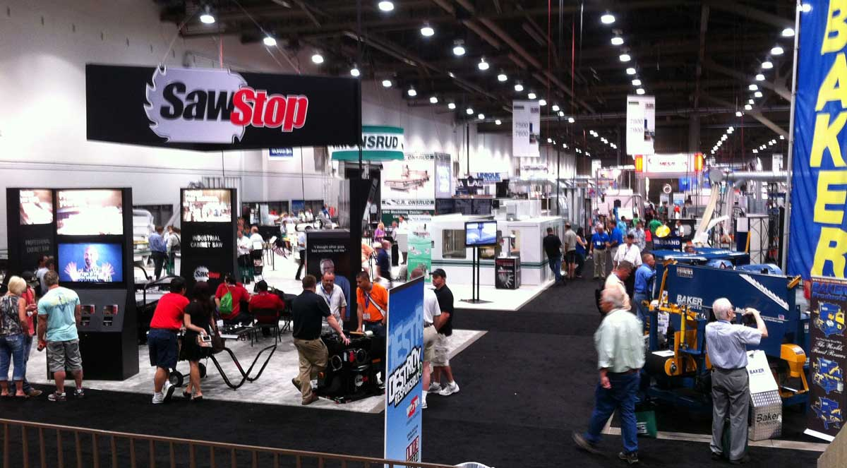 Awfs Las Vegas Exhibition Area