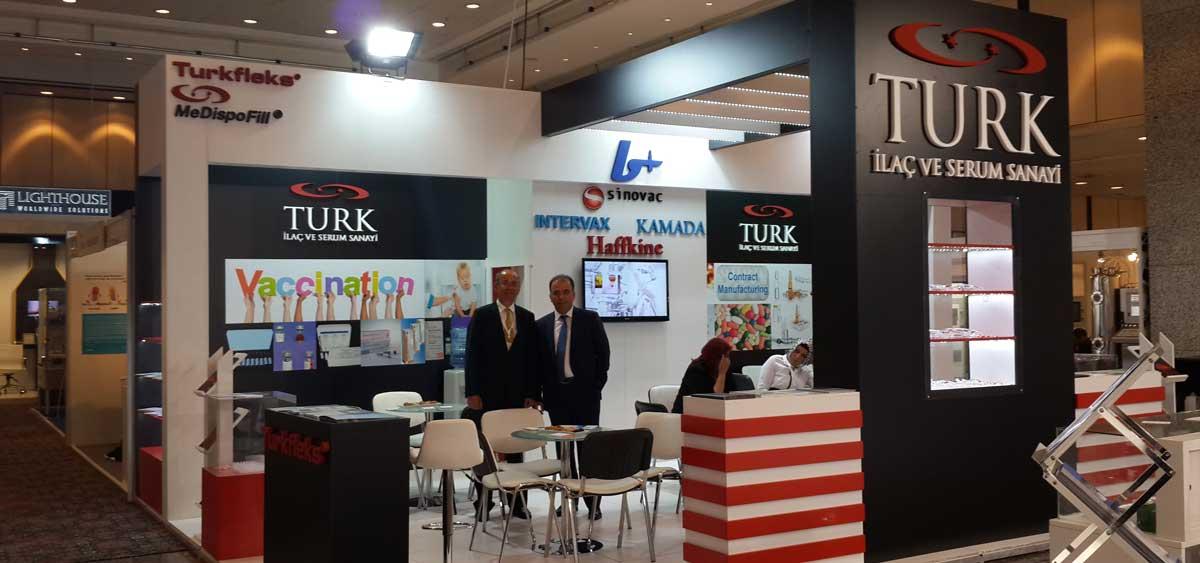 Cphi Istanbul Booth