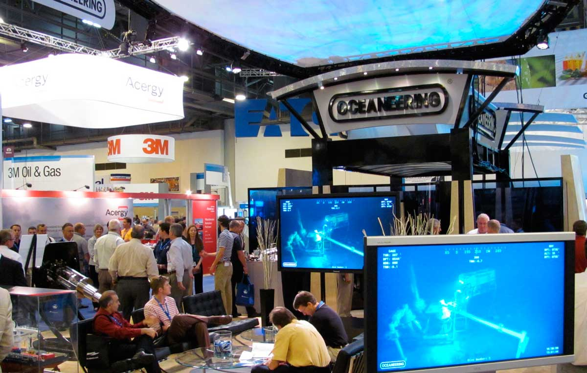 Otc Offshore Technology Booth