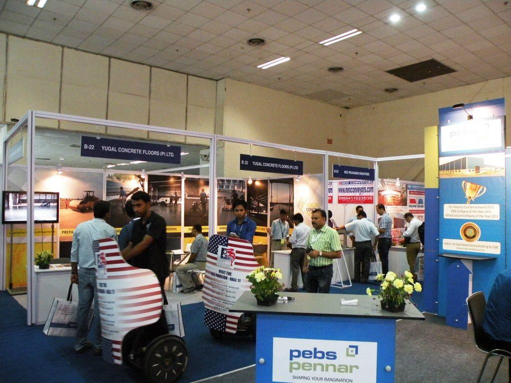 Exhibit At Warehousing India