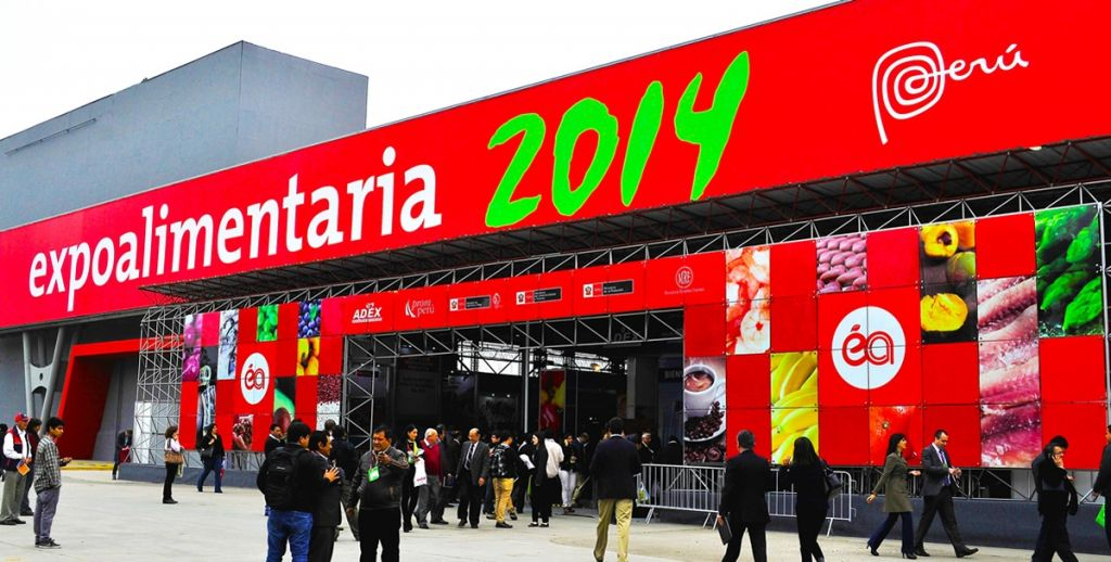 Expoalimentaria Peru Entrance Show