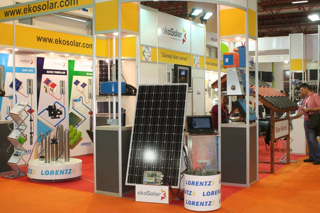 Solarex Istanbul Stands3
