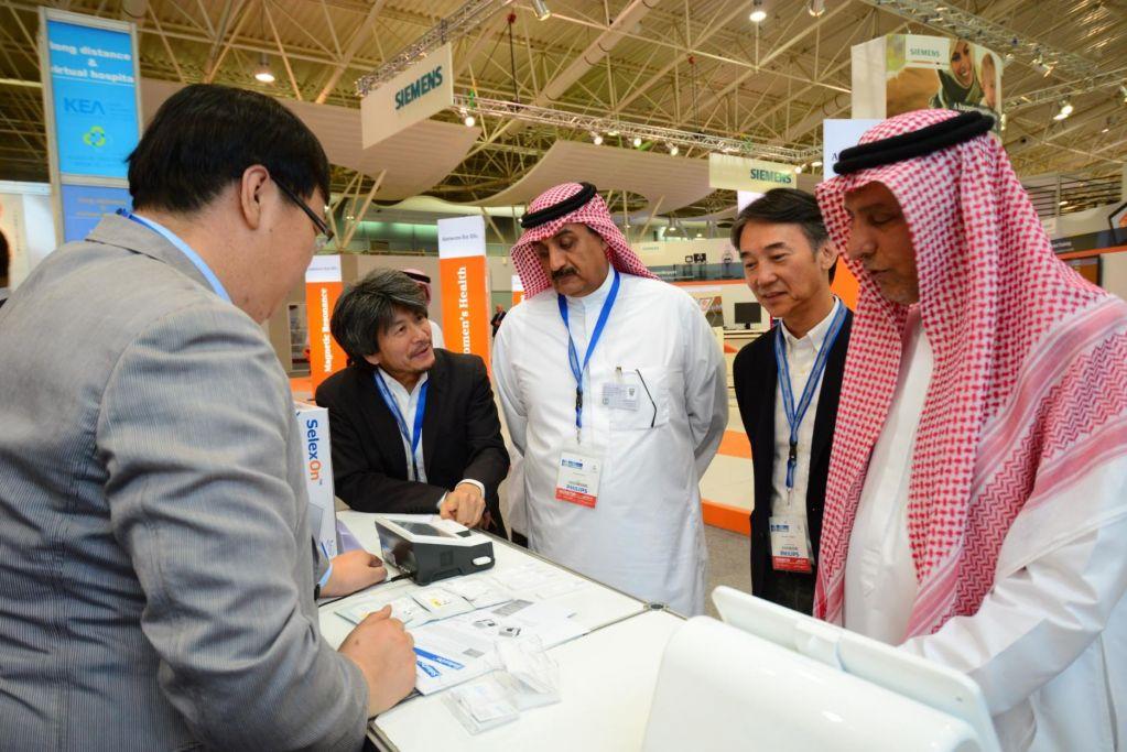 Saudi Health Stands Saudi