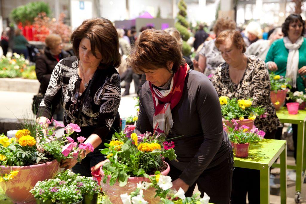 Chicago Flower Garden Fair Stands
