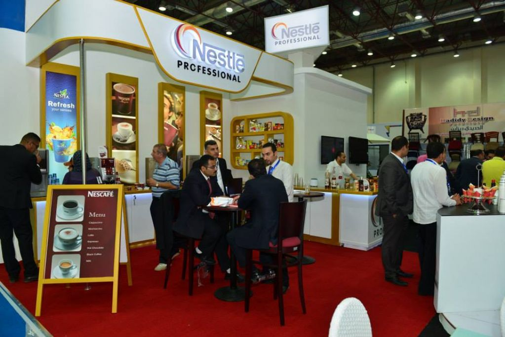 Cafex Stands Cairo