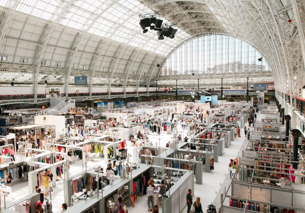 Trade Stands Olympia : Pure london july 2019