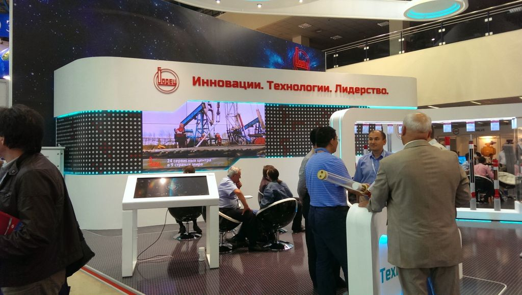 Exhibition Stand Wall Covering : Exhibition stands in moscow
