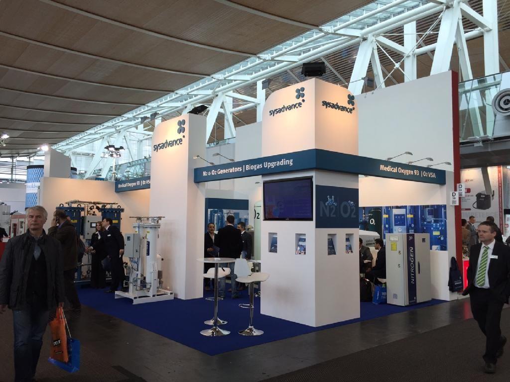 Comvac Exhibition Area