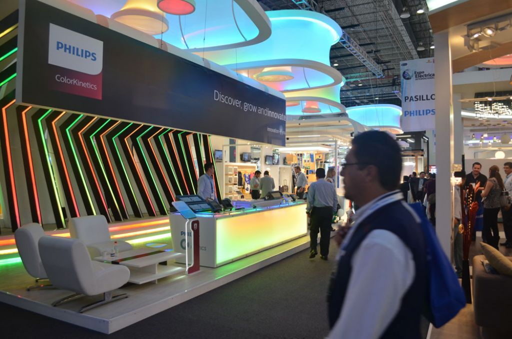 Expo Electrica 2 Stands Halls