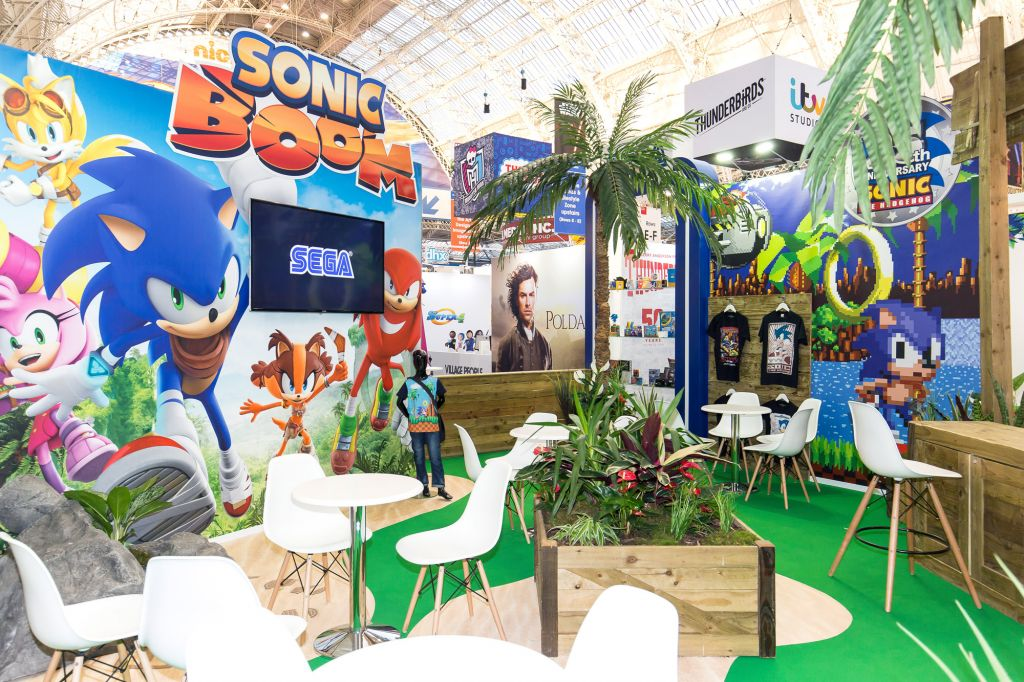 Brand Licensing 4 Europe Stand Costume